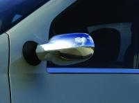 Накладки на зеркала (2 шт) - Renault Logan I (2005-2008)