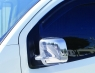"Накладки на зеркала ""полные"" (2 шт) - Peugeot Bipper (2008+)"
