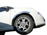 Накладки с нержавейки на колесные арки (4шт.) - Fiat 500