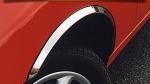 Накладки с нержавейки на колесные арки (4шт.) - Nissan SUNNY (91-95)