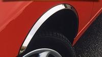 Накладки с нержавейки на колесные арки (4шт.) - KIA SPORTAGE (1991-2004)