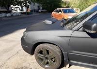 Накладки с нержавейки на колесные арки (4шт.) - Subaru Forester II (2002-2008)