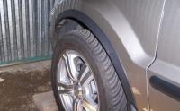 Накладки с нержавейки на колесные арки (4шт.) - Ford FUSION (2002+)