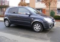 Накладки с нержавейки на колесные арки (4шт.) - Hyundai GETZ (2002+)