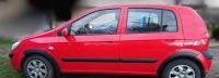 Накладки колесных арок (4шт.пластик) - Hyundai GETZ (2002+)