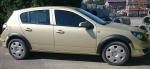 Накладки колесных арок (4шт.пластик) - Opel ASTRA H (2004-2013)