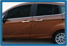 Накладки на ручки (4 шт, нерж.) - Ford B-Max (2012+)