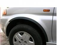 Накладки с нержавейки на колесные арки (4шт.) - Honda HRV (99+) 3-х дверн.