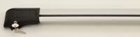 Поперечний багажник с замком (2 шт., алюминий) - Citroen Berlingo (1996-2008)