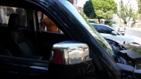 Накладки на зеркала (2 шт, нерж.) - Dodge Nitro (2007+)