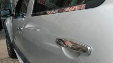 Накладки на ручки (4 шт., нерж.) - Renault Duster (2008+)