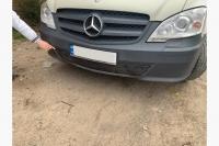 Зимняя накладка на бампер (2010-2015) - Mercedes Vito W639