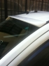 Козырек на лобовое стекло (под покраску) - Peugeot Bipper (2008+)