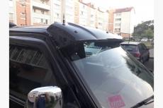Козырек на лобовое стекло (на кронштейнах) - Volkswagen T4