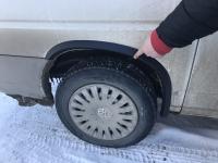 Накладки колесных арок (4шт.пластик) - Volkswagen T4 TRANSPORTER