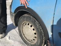 Накладки на арки (4 шт, ABS-пластик) - Fiat Scudo (2007-2015)