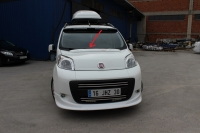 Козырек на капот (под покраску) - Peugeot Bipper (2008+)