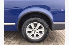 Накладки на арки (6 шт, ABS) - Volkswagen T5 рестайлинг (2010-2015)