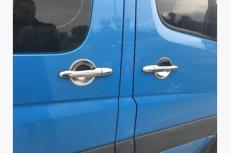 Накладки под ручки (4 шт, нерж.) - Mercedes Sprinter W901