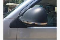 Полоски на зеркала (2 шт, нерж) - Volkswagen T6 (2015+)