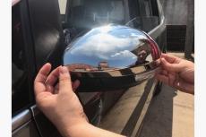 Накладки на зеркала (2 шт, нерж) - Volkswagen Sharan (2010+)