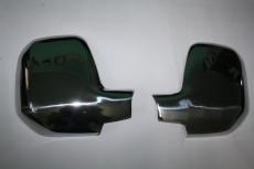 Накладки на зеркала (2 шт., нерж.) - Peugeot Partner Tepee (2008+)