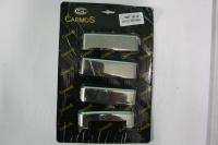 Накладки на ручки (4 шт., нерж.) - Ford Transit (1994-2001)