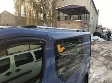 Рейлинги Хром - Opel Vivaro (2001-2014)