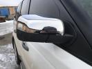 Накладки на зеркала (2 шт, нерж.) - Range Rover Sport (2005-2013)