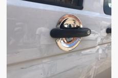 Мыльнички под ручки (3 шт, нерж) - Volkswagen Caddy (2004-2010)
