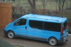 Рейлинги Черные - Opel Vivaro (2001-2014)