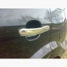 Накладки на ручки (4 шт., нерж.) - Ford Fiesta (2002-2008)