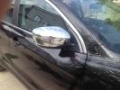 Накладки на зеркала (2 шт, пласт.) - Nissan X-trail (2014+)
