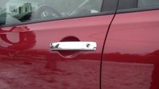Накладки на ручки (2 шт, нерж) - Nissan Pathfinder (2006+)