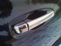 Накладки на ручки (4 шт, нерж.) - Toyota LC 150 Prado