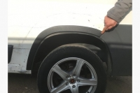 Накладки на арки (4 шт, пластик) - Peugeot Boxer (2006-2013)