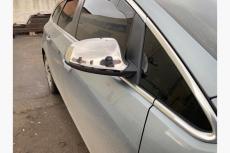 Накладки на зеркала (2 шт, нерж.) - Opel Astra J (2010+)