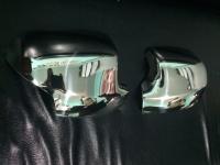 Накладки на зеркала (2 шт, нерж.) - Renault Logan III (2013+)