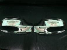 Накладки на зеркала  Viano 2004-2010 (2 шт, нерж) - Mercedes Vito W639