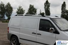 Рейлинги Хром  - Mercedes Vito W638