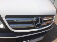 Накладки на решетку (2006-2013, нерж) - Mercedes Sprinter W906