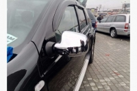 Накладки на зеркала (2 шт) - Renault Logan MCV(2008-2013)