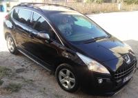 """Рейлинги """"Skyport  Black"""" - Peugeot 3008 (2010+)"""