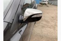Накладки на зеркала (2 шт, нерж.) - Hyundai IX-35 (2010+)