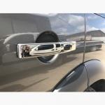Накладки на ручки (4 шт., нерж.) - Land Rover Discovery III