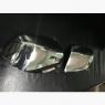 Накладки на зеркала (2 шт,нерж.) - Ford Fusion (2002+)