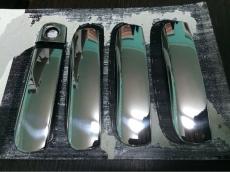 Накладки на ручки (4 шт., нерж.) - Audi A6 (2004-2011)