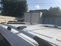 Перемычки на рейлинги под ключ (2 шт, алюминий) - Mercedes Vito W447 (2014+)
