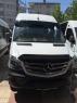 Дефлектор лобового стекла (черный, с крепежами) - Mercedes Sprinter W906