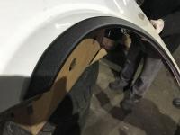 Накладки на арки (4 шт, черные) - Mercedes Vito W639 (2004-2015)